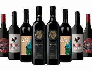 Classic Aussie Red  Wines Mix Incl. Red Kangaroo Reserve 10x750ml