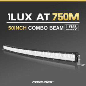 50inch Cree LED Light Bar Curved Combo Driving Lightbar Offroad 4x4 and road vehicles