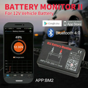 12V Bluetooth 4.0 Battery Monitor for vehicles  w/ Alarm  | eBay