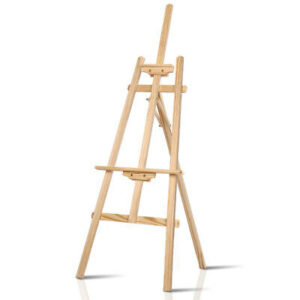 Art Easel Stand Painting Easels Wedding Wooden Tripod Stand Display 147cm  | eBay
