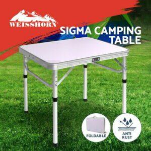 Camping Table Portable Folding Aluminium Dining Desk Picnic Garden Table  | eBay