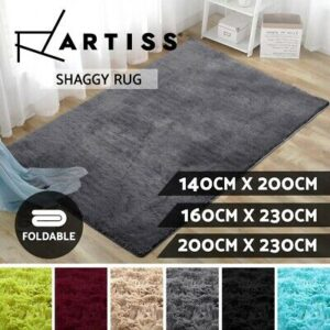 Artiss Shaggy Floor Rug Carpet is a Large Soft Bedroom or Living Room Mat  | eBay