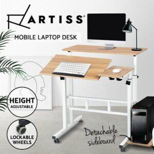 Artiss Portable Laptop Computer Table Desk Adjustable Height Desk  | eBay