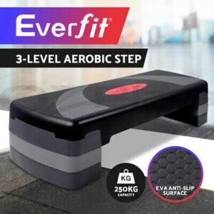 Aerobic Step Exercise Stepper Steps Home Gym Fitness Block Riser Bench  | eBay