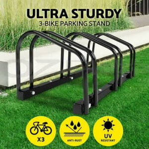 1-3 Bike Stand Bicycle Rack Storage Floor Parking Holder Cycling Portable Stands  | eBay