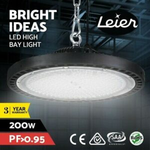 200W High Power Bay LED Lights Light Industrial Workshop Warehouse Gym Lamp  | Products On Sale