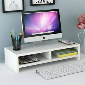 2 Tier Computer Screen Desktop Monitor Riser  | Products On Sale